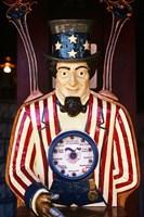 1890S 1900S 1910s Folk Art Uncle Sam Amusement Arcade Fine Art Print