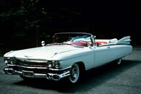 1950s 1959 El Dorado Biarritz Cadillac Convertible Fine Art Print