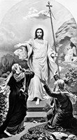 Jesus Christ The Resurrection Easter Fine Art Print