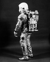 1960s Side View Of Astronaut Fine Art Print