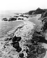 1910s Circa 1918 Arch Beach Laguna California Usa Fine Art Print