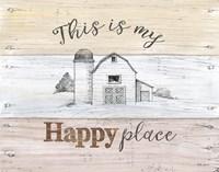 Farmhouse III Framed Print