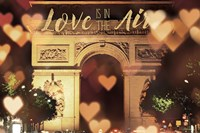 Love is in the Arc de Triomphe v2 Fine Art Print