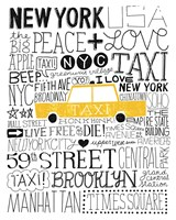 Iconic NYC III Framed Print