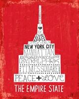 Iconic NYC IV Framed Print