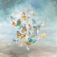 Beautiful Butterflies Framed Print
