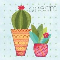 Southwest Cactus IV Framed Print