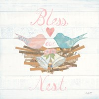 Lovebirds III Fine Art Print