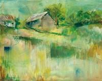 September Barns Fine Art Print