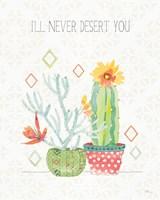 Sweet Succulents V Framed Print