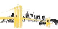 Skyline Crossing Yellow Fine Art Print