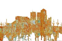 Tucson Arizona - Rust Fine Art Print