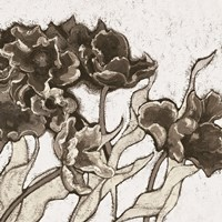 Ruffled Tulips Neutral Fine Art Print