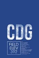 CDG ATC Fine Art Print