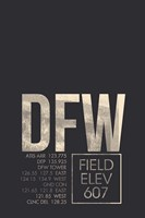 DFW ATC Fine Art Print