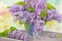 Lilacs in a Vase Fine Art Print