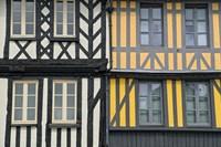 Timber Framed Houses Fine Art Print