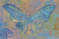 Turquoise Butterfly Fine Art Print