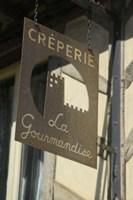 Creperie Sign Fine Art Print