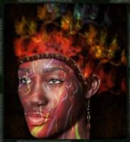 Fire Princess Fine Art Print