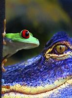 The Amphibean & The Reptile Fine Art Print