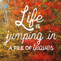 Life is for Jumping Fine Art Print