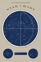 Southern Star Chart Fine Art Print