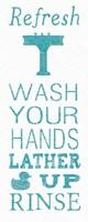 Hand Towel Sink Fine Art Print