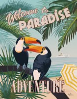 Welcome to Paradise II Fine Art Print