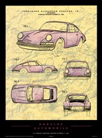 Porsche Patent Fine Art Print