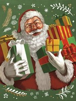 Santas List IV Crop Fine Art Print
