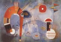 Rond et Pointu, c.1939 Fine Art Print