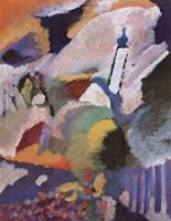 Kirche in Murnau, 1910 Fine Art Print
