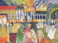 Ladies in Crinolines, 1909 Fine Art Print