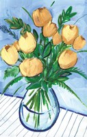Yellow Centerpiece II Fine Art Print
