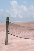 Beach Volleyball Net Fine Art Print