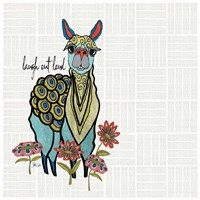 Llama Fine Art Print