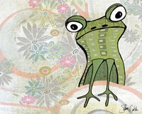 Frog Abstract Fine Art Print
