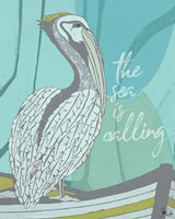 Pelican - Sea is Calling Fine Art Print