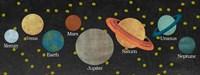 Planet Chart Fine Art Print