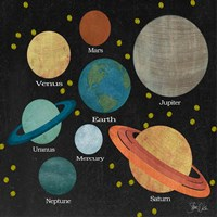 Planet - Center of the Universe Fine Art Print