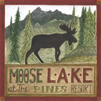 Moose Lake Fine Art Print