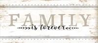 Family is Forever Framed Print