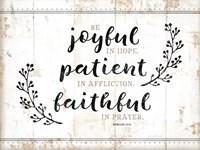 Be Joyful Fine Art Print