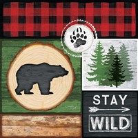 Stay Wild Framed Print