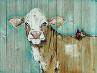Cow with Friends Fine Art Print
