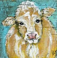 Cow Face Fine Art Print