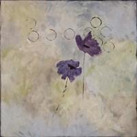 Purple Flower I Framed Print