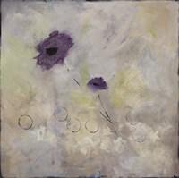 Purple Flower II Framed Print