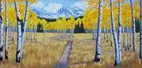 Trail of Mountains Fine Art Print